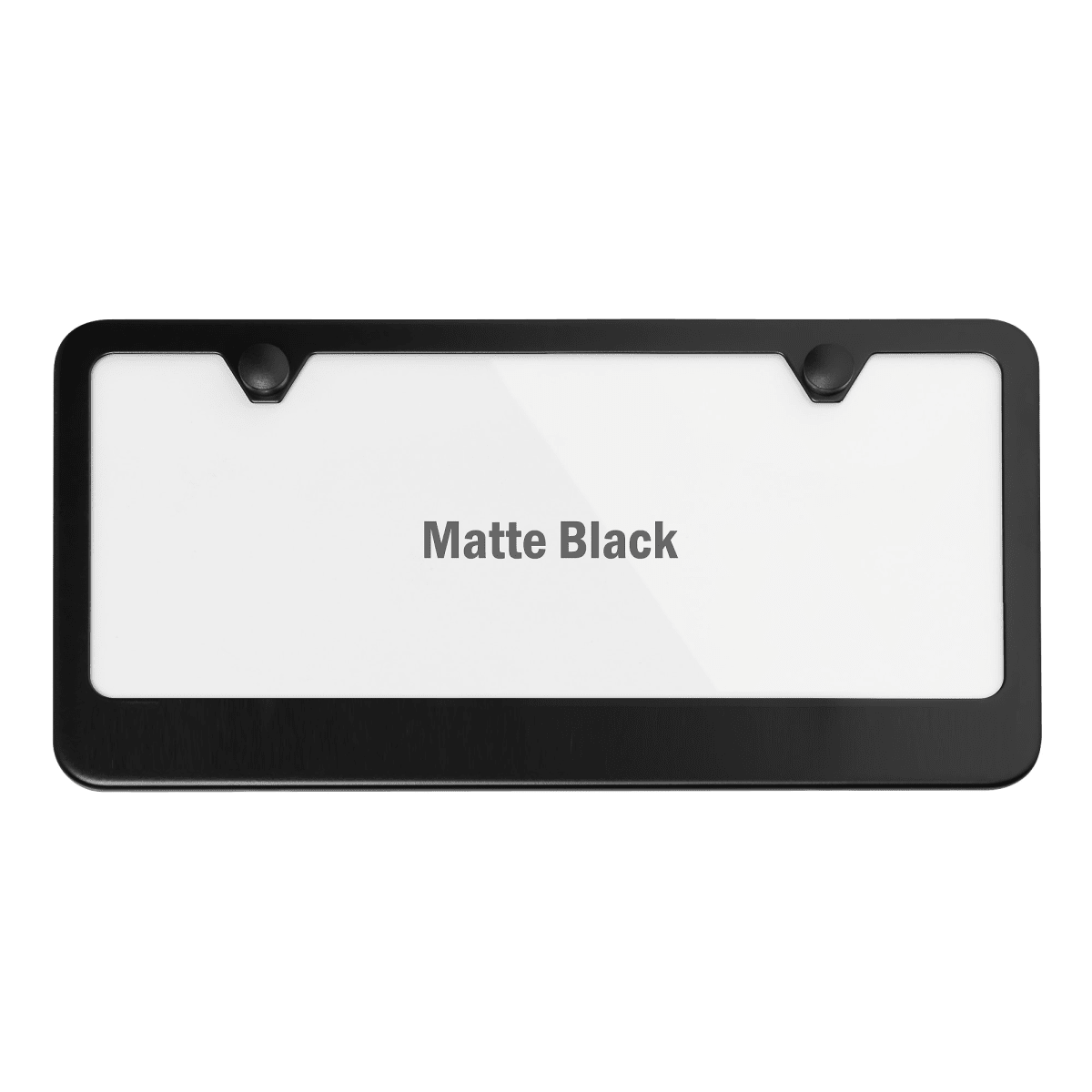 GND NOT All WHO Wander are Lost License Plate Frame Cover,Bible Verses Black Stainless Steel License Plate Frame for US Canada Vehicles