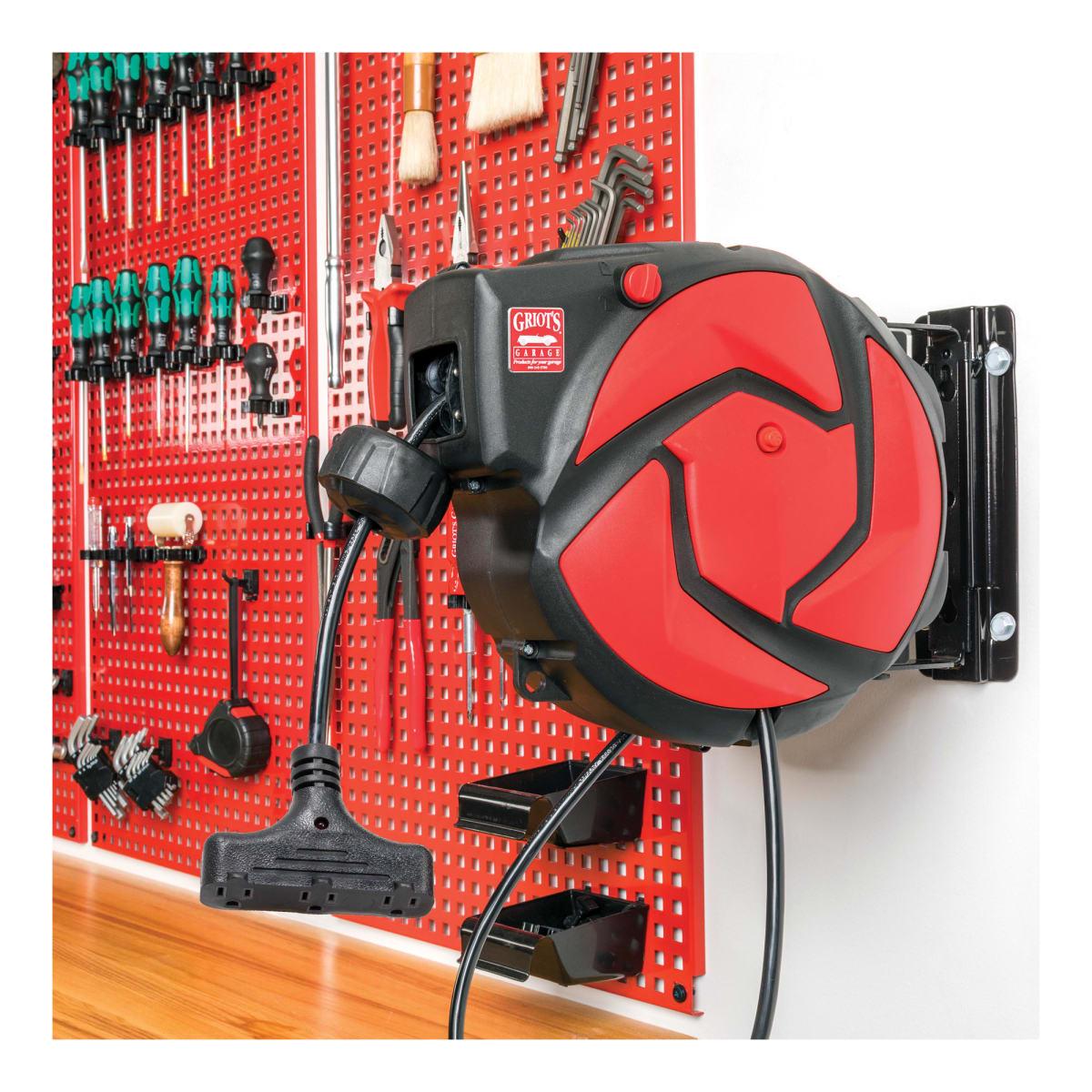 Retractable Extension Cord Reel 45 Foot Griot S Garage