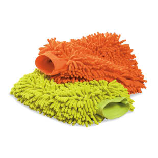 Microfiber Wash Mitts, Set of 2