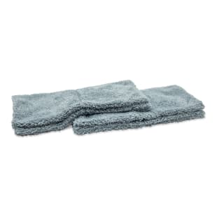 Microfiber Plush Edgeless Wash Cloths, Set of 2