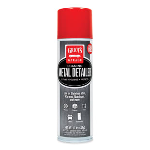 Foaming Metal Detailer, 17 Ounces