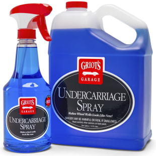 Undercarriage Spray