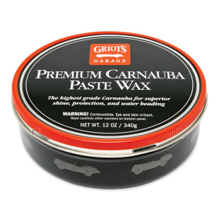 Premium Carnauba Paste Wax, 12 Ounces