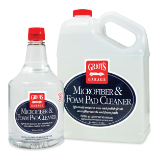Microfiber & Foam Pad Cleaner