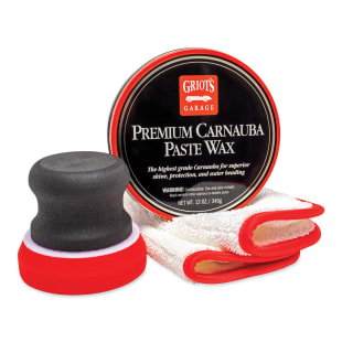 Premium Carnauba Paste Wax Kit