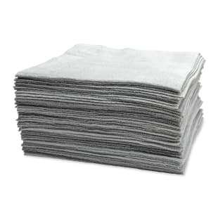 Microfiber Edgeless Utility Towels, Set of 50