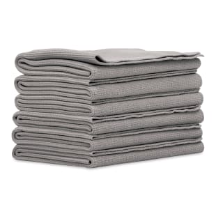 Microfiber Edgeless Towels, Set of 6