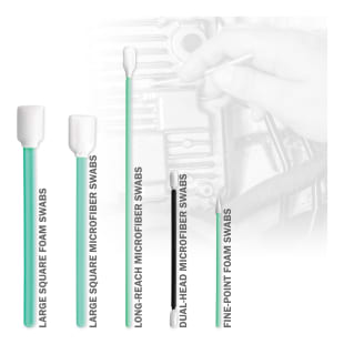 Detailing Swabs, Green, 50 Count