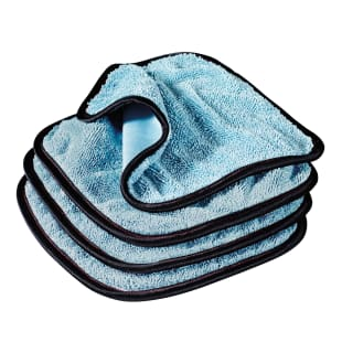 PFM® Dual Weave Glass Towels, Set of 4