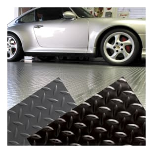 Diamond Plate Garage Floor Mat