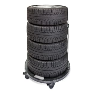 Rolling Tire Cart