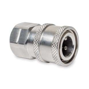 Stainless Steel Quick Disconnect Coupler, Female