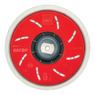 "BOSS™ 6"" Fanned Orbital Backing Plate"