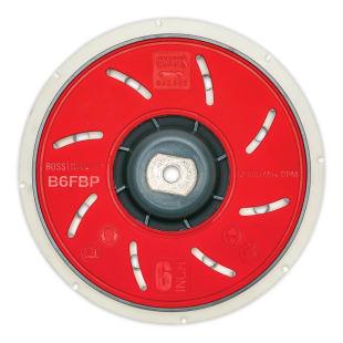 """BOSS™ 6"""" Fanned Orbital Backing Plate"""