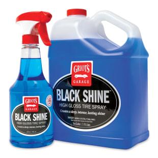 Black Shine High Gloss Tire Spray